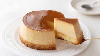 プリンケーキの作り方 Creme Caramel Pudding Cake / Flan|HidaMari Cooking