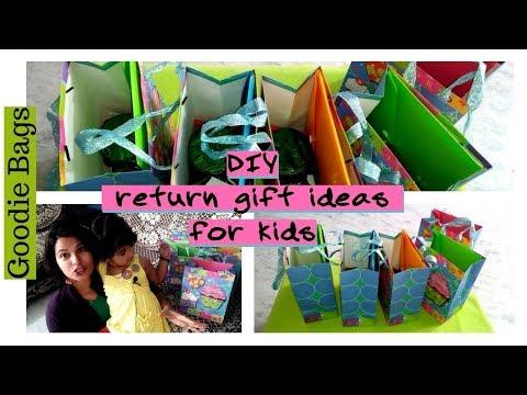 My daughter Third birthday     DIY goodie bag    return gift ideas within budget   VLOG 2/PART 1