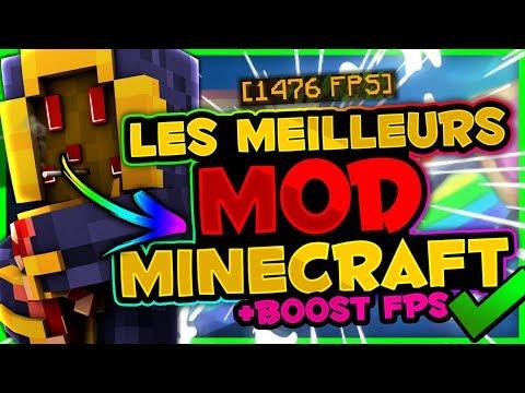 LES MEILLEURS MOD MINECRAFT PVP !! [+BOOST FPS]