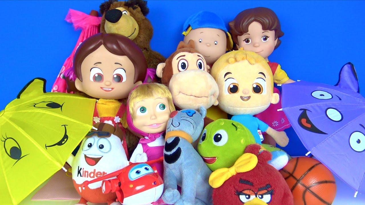 Niloya Mete Tospik Maşa Heidi Çizgi film oyuncak bebekleri rain rain go away yağmur şarkısı söylüyor