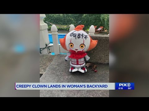 Katie Sommers - NJ Woman Slept With Knife After Pennywise The Clown Doll Flies In Backyard
