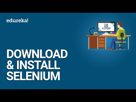 Download & Install Selenium | Selenium WebDriver Setup | Selenium Installation Guide | Edureka