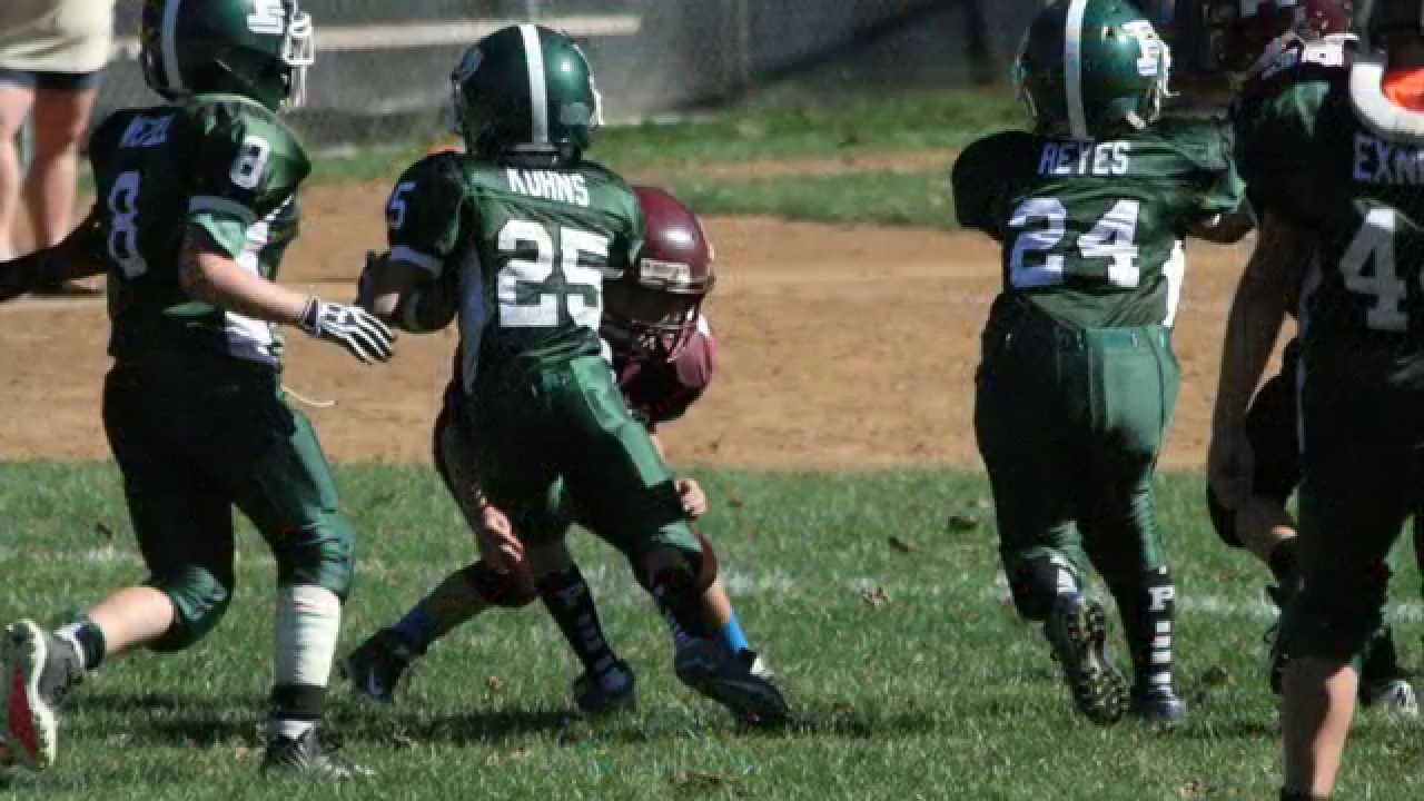2014 Abington Raiders 90lbs v. Pennridge Greenjackets, September ...