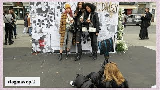 I was part of the Marc Jacobs daisy event in NYC!! (insane)| Vlogmas EP.2