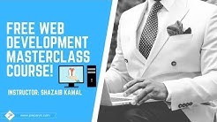 Complete Free Web Development Course: Become A Professional Website Developer Today!