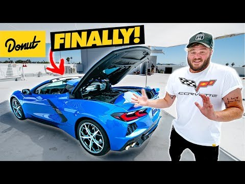WE GOT ONE: Up Close with The Mid-Engine C8 Corvette | Bumper 2 Bumper