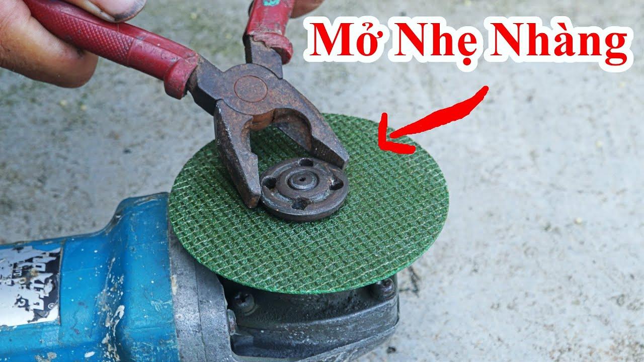 Cách Mở Ốc Máy Bị Kẹt Cứng Rất Đơn Giản Mà Không Ai Nghĩ Ra / Mẹo Mở Đầu Ốc.how to open rusty screws
