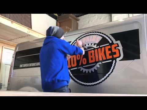 110% Bikes - Vehicle Graphics