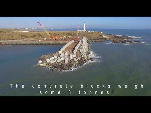 Nigg Bay - Aberdeen Harbour Extension - May 2018