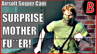 Airsoft Sniper Cam - SURPRISE MOTHER FU**ER! | Bodgeups Airsoft