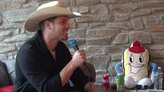 Dustin Lynch Backstage Interview at 93.1 WPOC's Sunday in the Country 2018