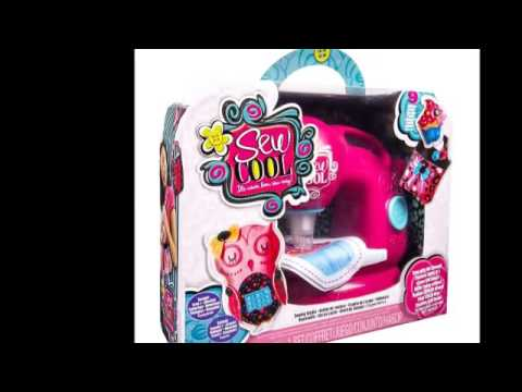 Sew cool macchina da cucire per bambini youtube for Macchina per cucire per bambini