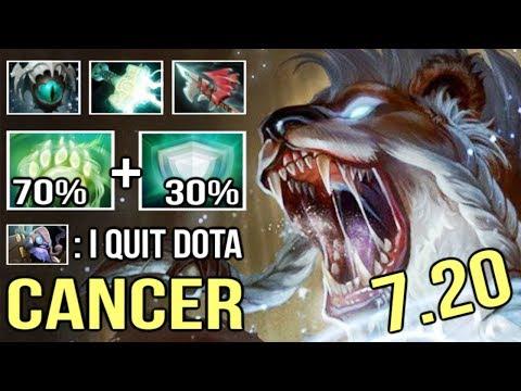 Epic New Skill DEFENDER 7.20 Lone Druid 30% Damage Absorb Bear Best Rework Ever WTF Dota 2