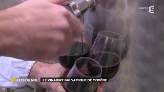 Le vinaigre balsamique de Modène