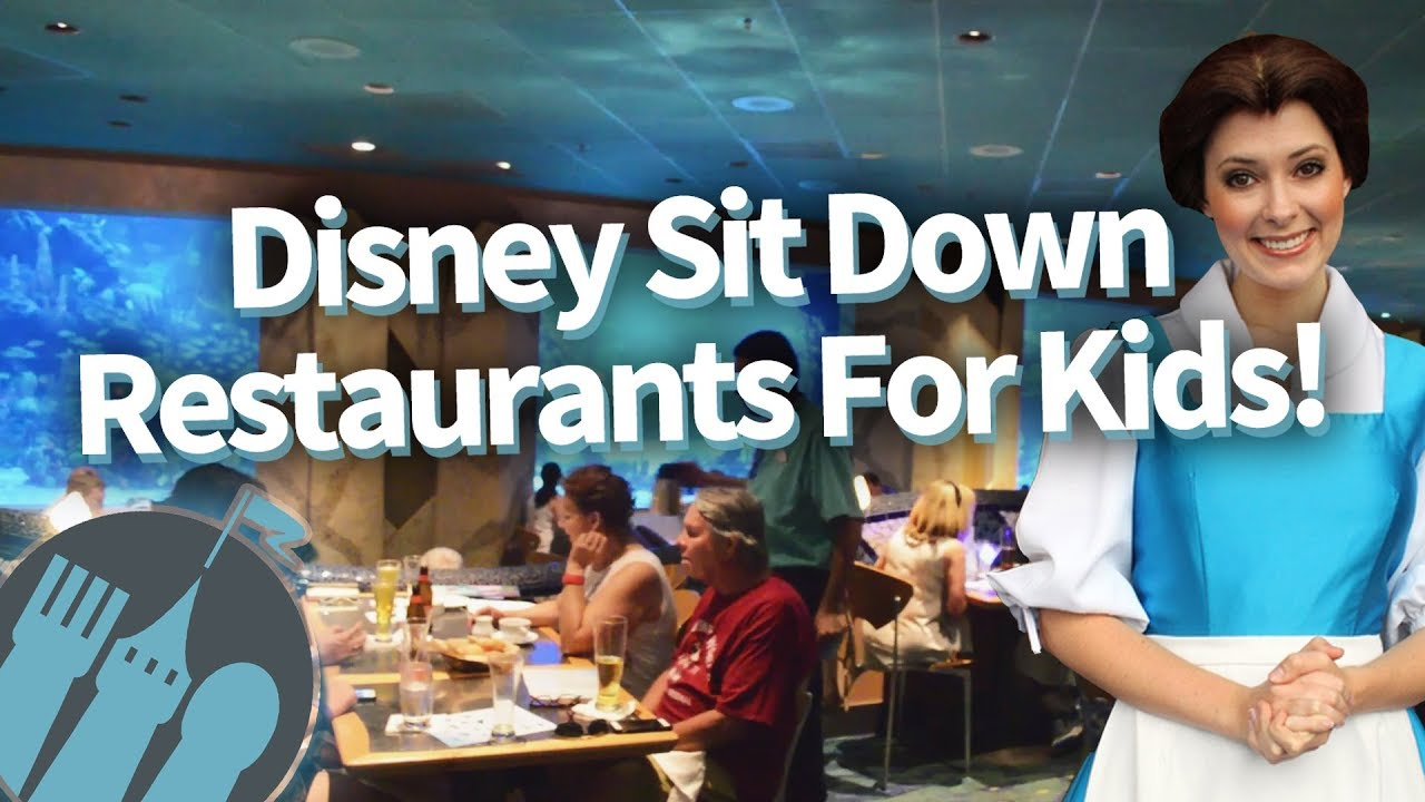 Best Disney World Restaurants For Kids And Toddlers