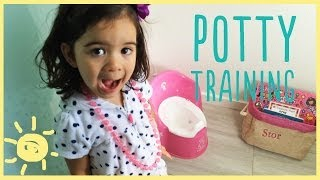 ELLE | POTTY TRAINING Break Thru Moment!
