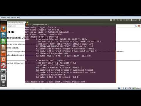 How to install and configure squid proxy server on linux ubuntu