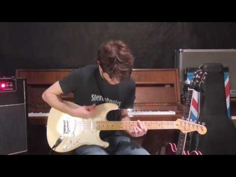 Blur Song 2 Guitar Tutorial