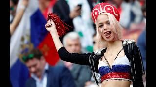 Rusya - Suudi Arabistan Dünya Kupası Maçından Renkli Görüntüler 2018