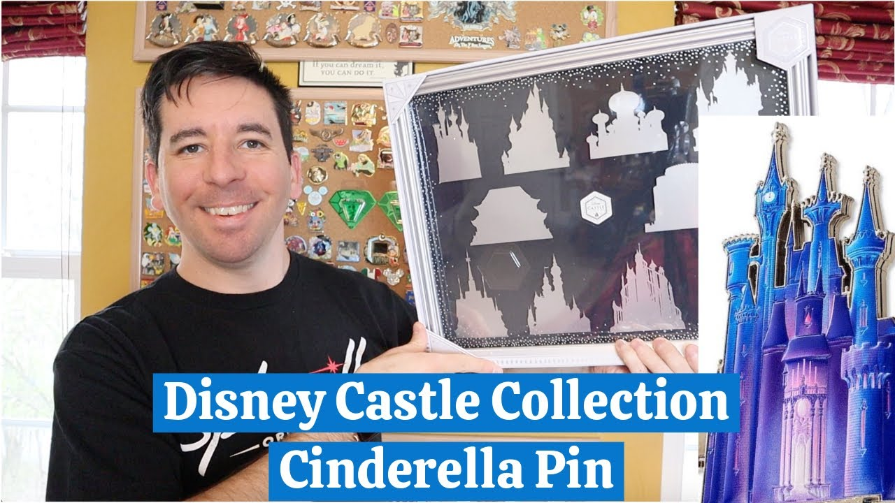 Cinderella Castle Pin Disney Castle Collection Series 1 10 Youtube