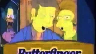 The Simpsons 1993 Butterfinger