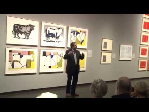 "Jordan D. Schnitzer Gives Exhibition Tour of ""Under Pressure"" at Jordan Schnitzer Museum of Art"