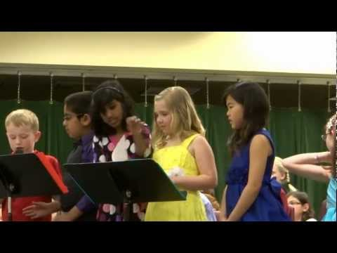 Jefferson Elementary School - 2nd-3rd Grades Musical 2013 (part 1)