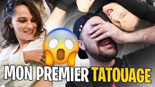 Je fais mon premier tatouage 💯 (Valouzz n'est pas très content)