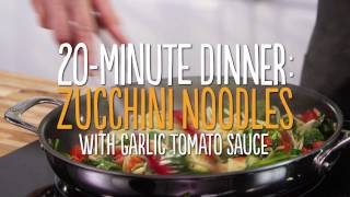 Zucchini Noodle 20 Minute Dinner  In the Kitchen