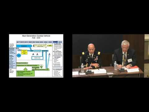 AUSA Army Platforms 2016 - Panel 3 - Next Generation Combat Vehicle