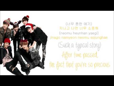 EXO K   첫 눈 First Snow Color Coded Hangul Rom Eng Lyrics