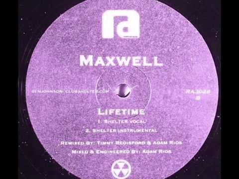 Maxwell - Lifetime (Shelter Vocal)