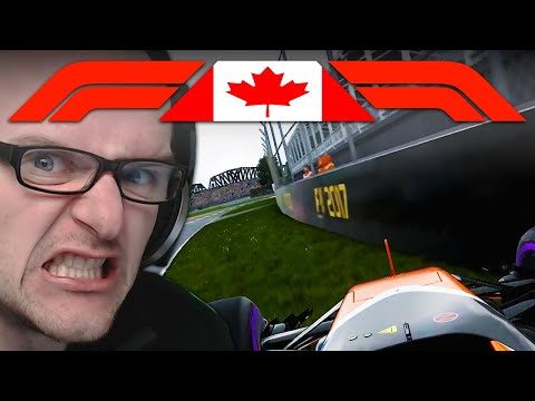 BITTE TÖTE MICH NICHT! | Kanada 1/2 🎮 F1 2017 S2 #13