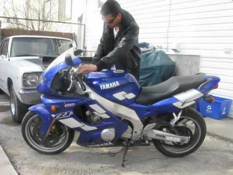 1997 yamaha yzf 600 for sale youtube for Yamaha r6 600 for sale