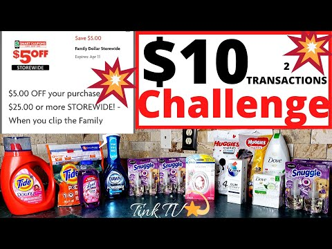 💥 FAMILY DOLLAR |$5/$25 ALL DIGITAL DEAL |FREE HUGGIES & .50 Lysol |$10 And UNDER CHALLENGE💥 🔥 DEALS
