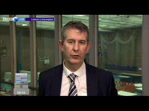 """Edwin Poots accuses BBC of putting out """"fake news"""""""