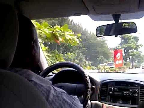 Route to VI in Lagos, nigeria