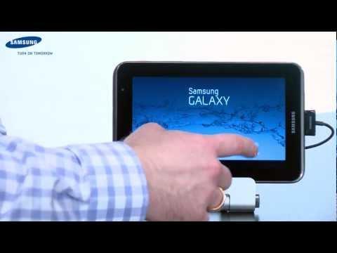 Samsung Galaxy Tab 2 Wifi - Einrichten und Bedienen