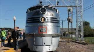 Nebraska Zephyr, Amtrak and  BNSF at Galesburg, IL 9-22-12