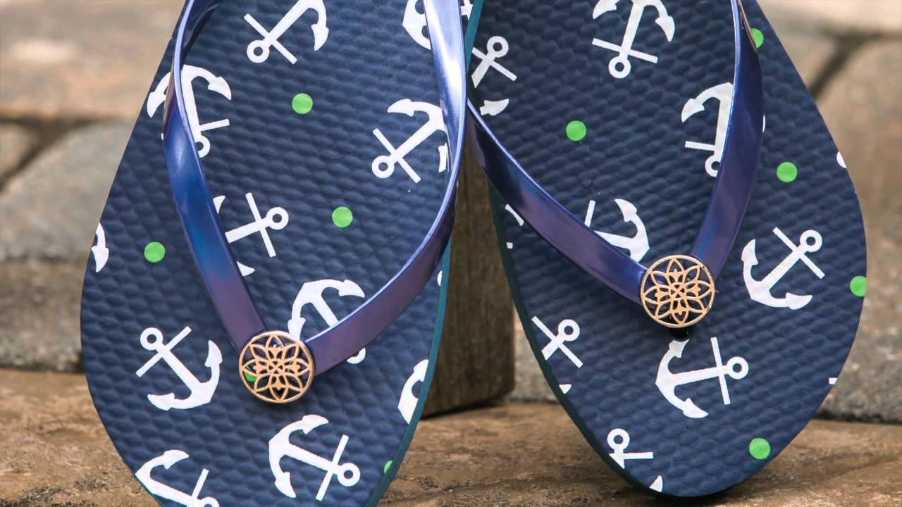 dd33554eb4f29e Flip Flops and Sandals from Blossom Boutique - YouTube