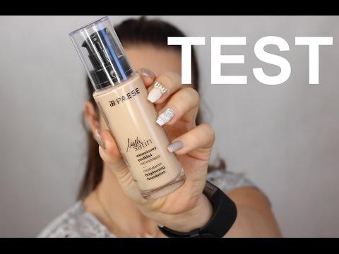 Pierwsze wrażenie + test na żywo - PAESE lush satin witaminowy podkład  - recenzja