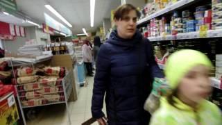 Флешмоб в магазине Пятёрочка.г,Кольчугино