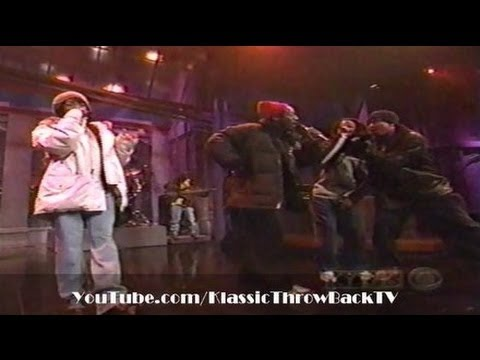 The Fugees, Tribe Called Quest, Busta Rhymes - 'Rumble In The Jungle' (Live) 1996