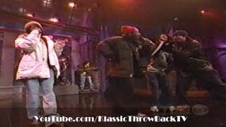 """The Fugees, Tribe Called Quest, Busta Rhymes - """"Rumble In The Jungle"""" (Live) 1996"""
