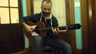 Nico del Cid, prueba sonido guitarra Flamenco Negra.