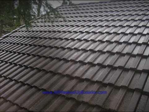 SEATTLE WA SLATE TILE ROOF CLEANING   YouTube