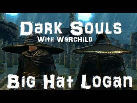 Dark Souls Walkthrough - Ep57 - How to Save Big Hat Logan from Archive Prison