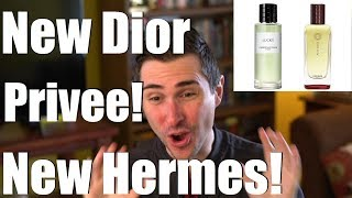 NEWS: Dior Privee REBOOT & New Hermessence! Perfume News (Feb '18 pt.1)