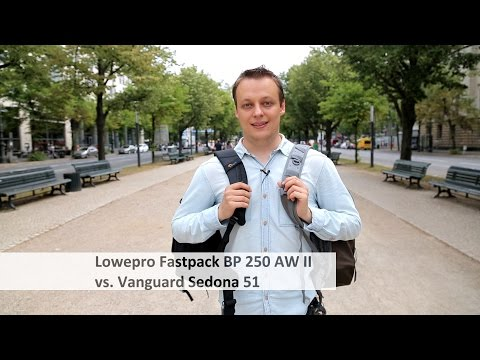 Lowepro Fastpack BP 250 AW II Vs. Vanguard Sedona 51