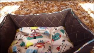 Лежанки из плотной ткани для ваших любимцев